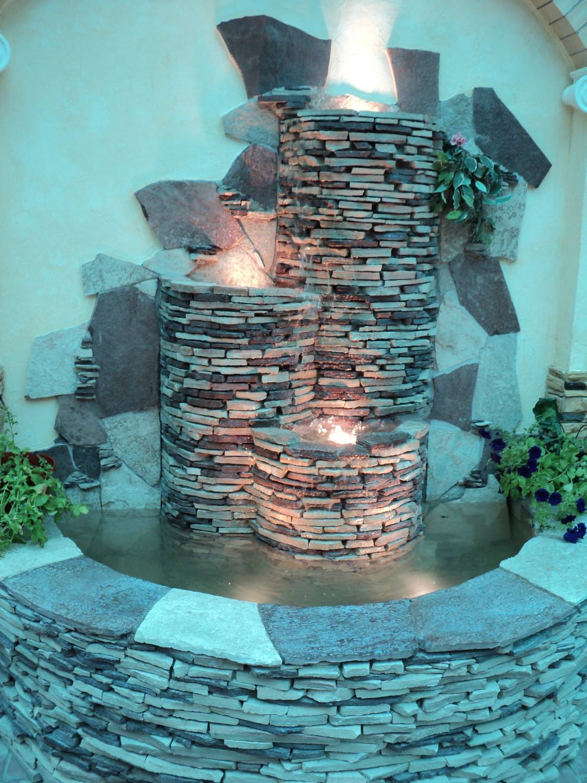 Домашний водопад своими руками мастер класс с пошаговым фото